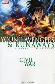 Cover of Civil War, Young Avengers and Runaways