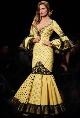 traje de flamenca 2014 Aurora Gaviño