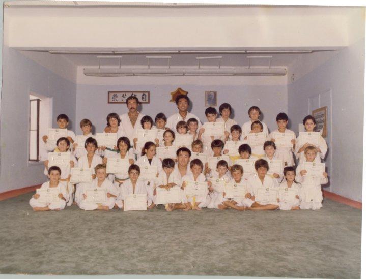 Alumnos del Dojo Shubukan