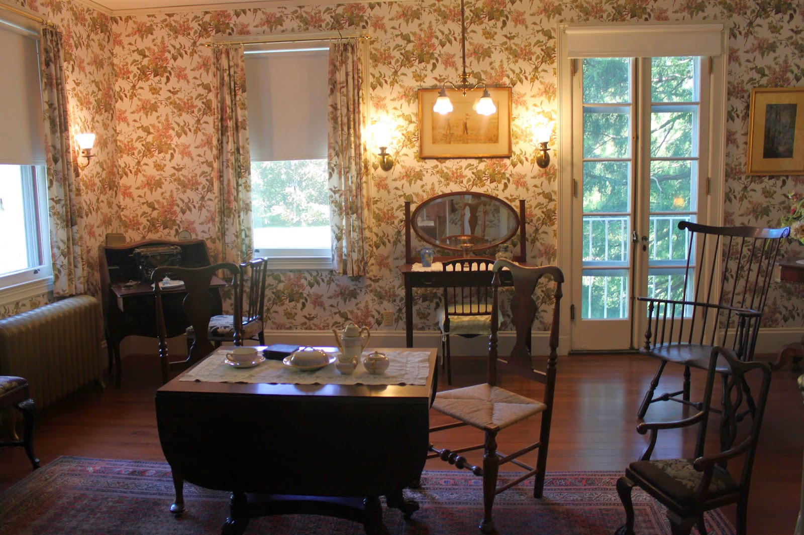 A Lady in Boston : Nearby: The Rooms of Blithewold Mansion