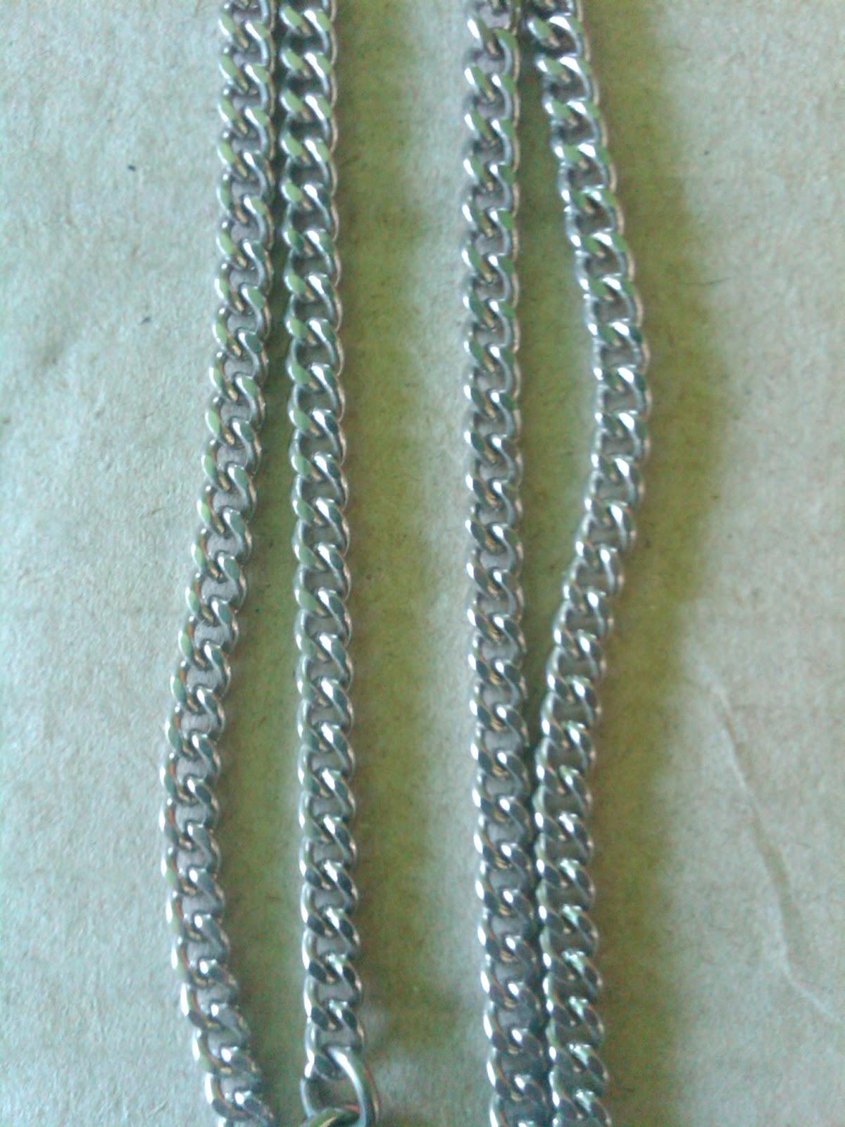 Produk Kalung Cowok Besi Putih Macam Macam Kalung Besi Putih