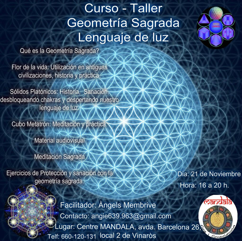 Curso – Taller Geometría Sagrada – Lenguaje de luz
