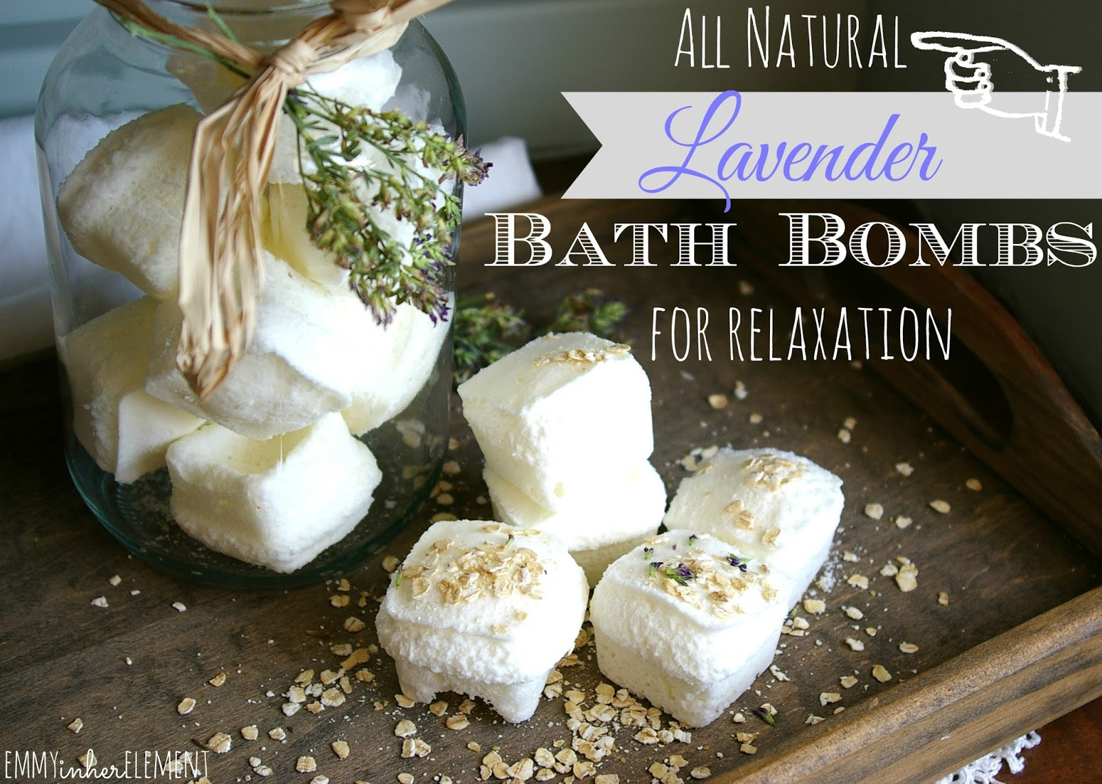 Relaxation diy bath bombs