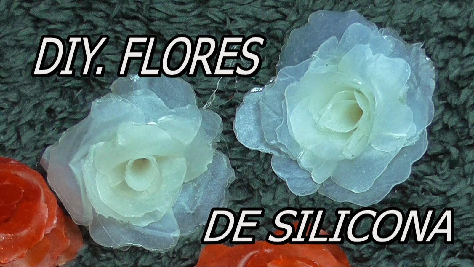 D m manualidades flores de silicona - Manualidades con silicona ...
