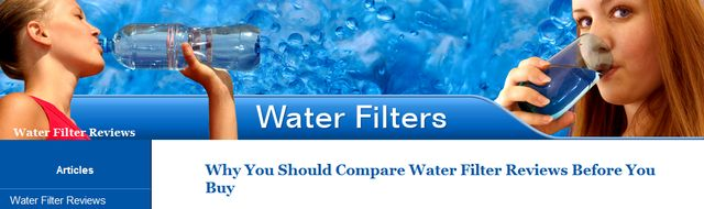 Water Filters Reviews at TheWaterFilterReviews.com