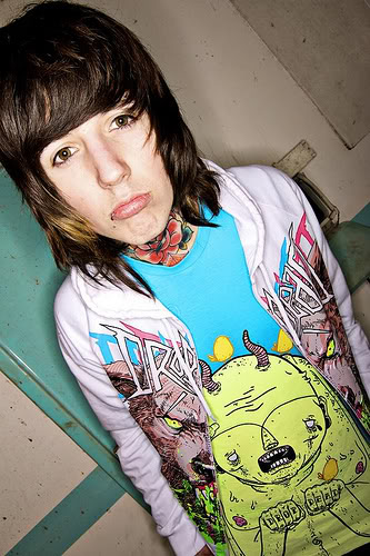 Oli sykes pissed on a girl