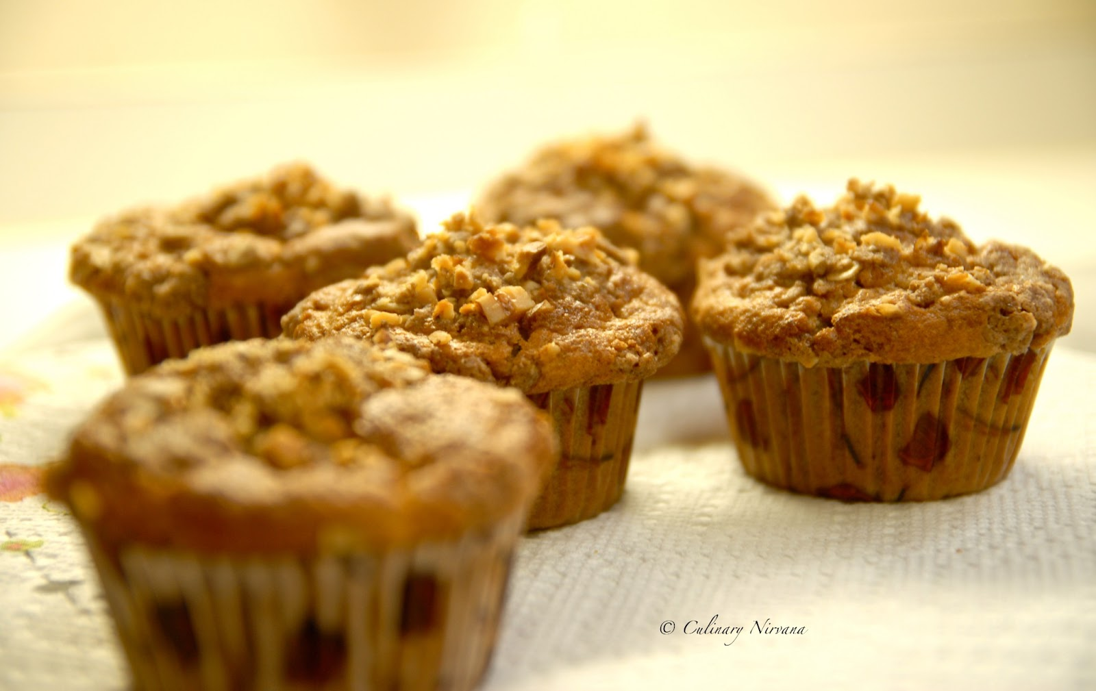 Spiced Apple Cider Muffins With Streusel Topping Recipes — Dishmaps