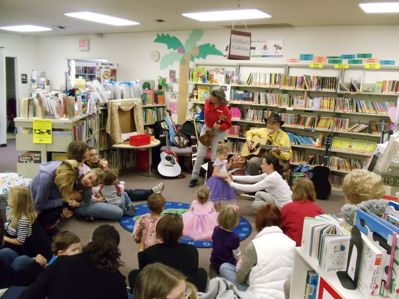 HB Library Youth Fish Castle Music at the Honey Brook Library