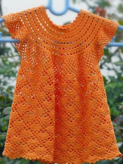 Lovely Crochet Dress - Free Pattern