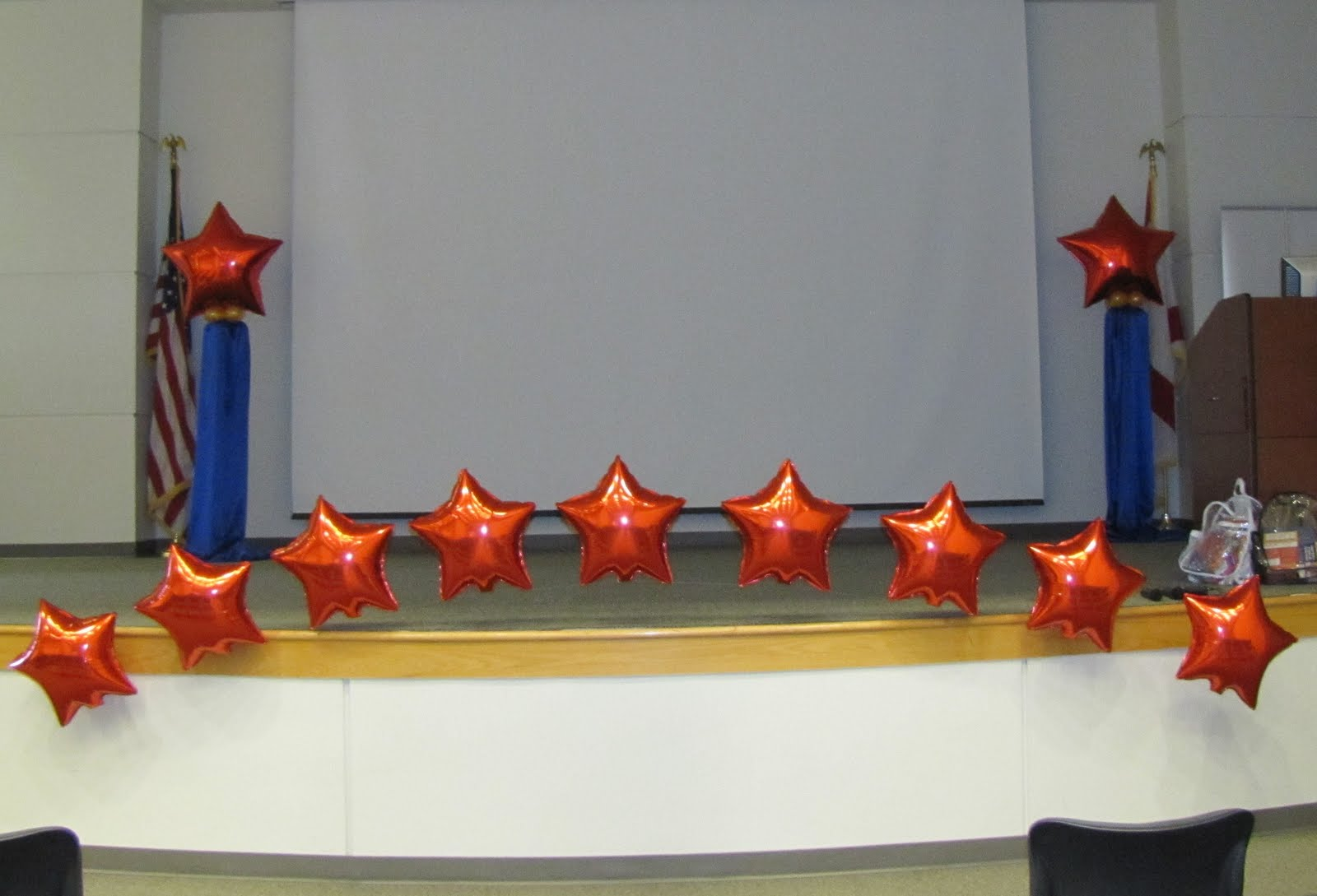 Party People Event Decorating Company Polk State College Stage Decor