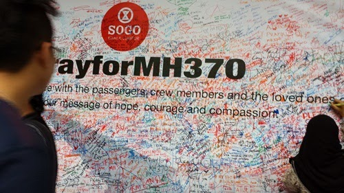 Kehilangan pesawat Malaysia Airlines MH370, pesawat MAS ke beijing hilang, prayformh370