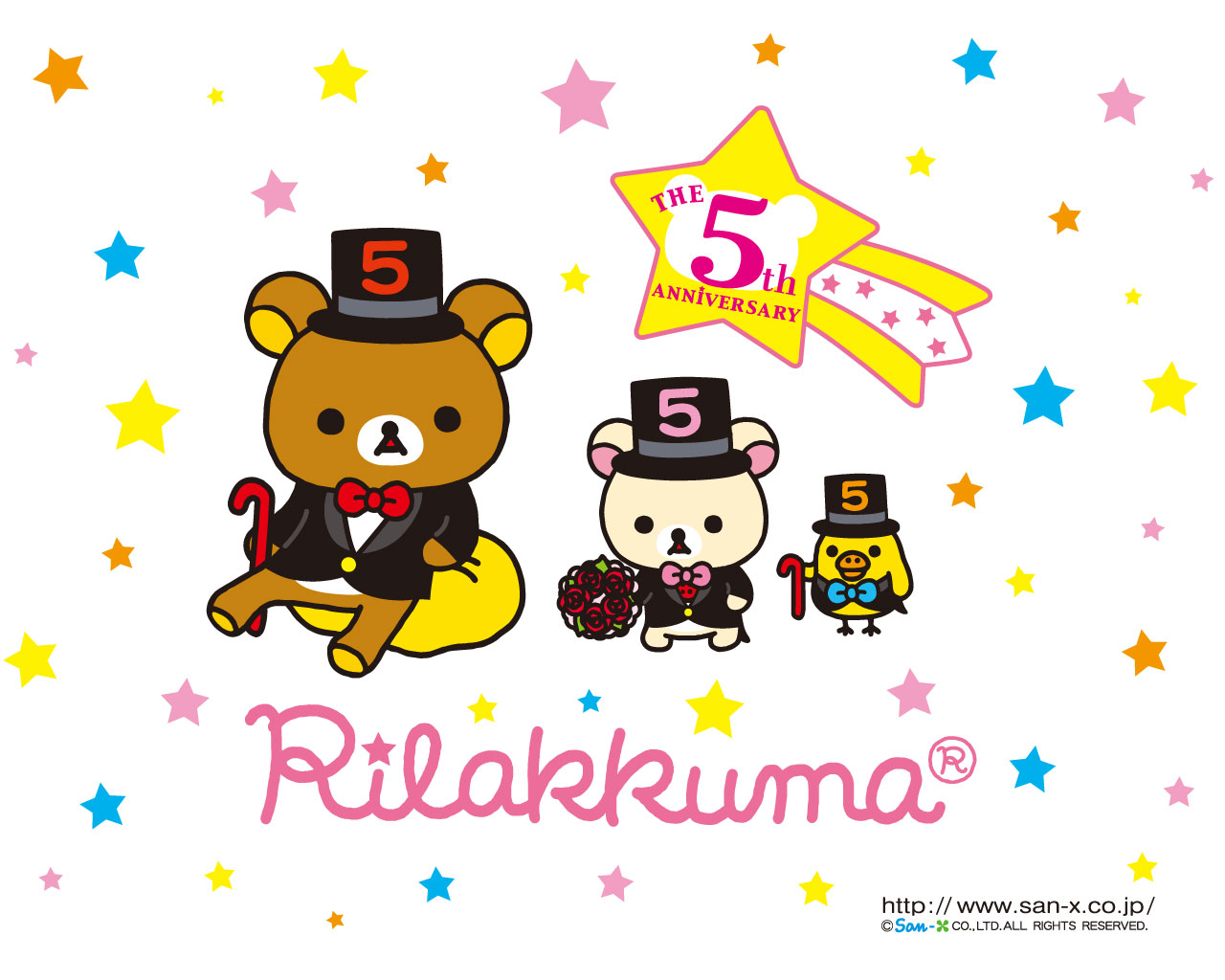rilakkuma wallpaper january - photo #41