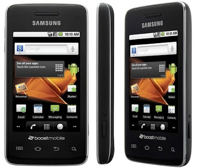 boost mobile android samsung. The Samsung Galaxy Prevail is