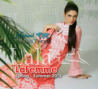 Lala Textile - LaFemme Spring Summer 2015 Collection