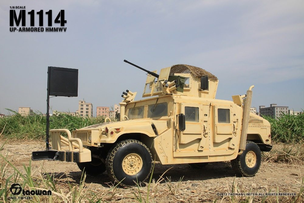 Onesixthscalepictures Taowan M1114 Up Armored Humvee