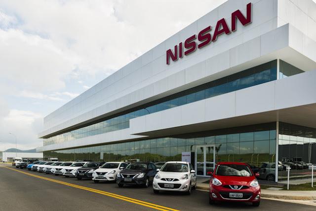 Nissan investe R$ 3 milhões para pintura em sua fábrica no RJ