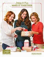 The new Stampin' Up! Holiday Catalogue for 2014