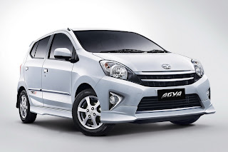 Toyota Agya Type G Automatic Transmission