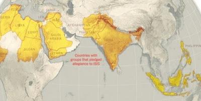 Δείτε τον χάρτη που αποκαλύπτει ότι ξεκίνησε ο Τρίτος Παγκόσμιος Πόλεμος