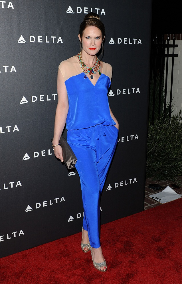 Stephanie March - Delta Airlines GRAMMY Week LA Reception (Feb. 7) 2013