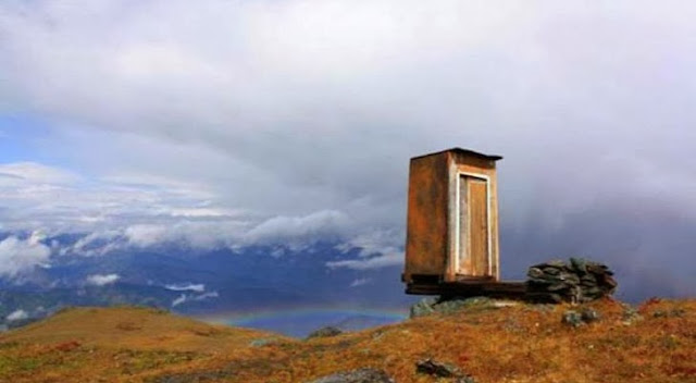 The World's Most Extreme Toilet