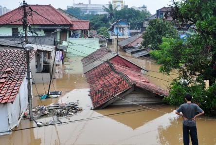 720 RT di Jakarta Terendam Banjir