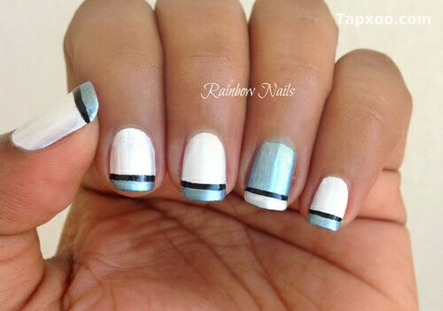 French Tip Nail Designs Ideas