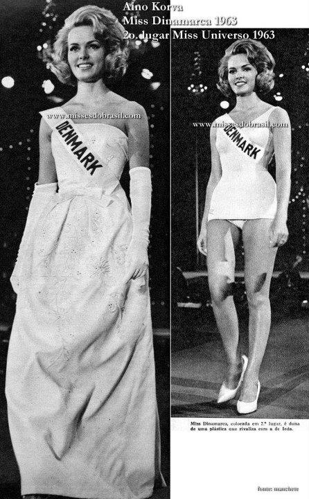 miss denmark 1963