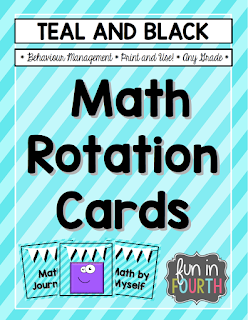 https://www.teacherspayteachers.com/Product/Math-Rotation-Cards-Teal-and-Black-1932934