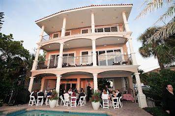 Lavish Beach Front Mini-Mansion for Weddings
