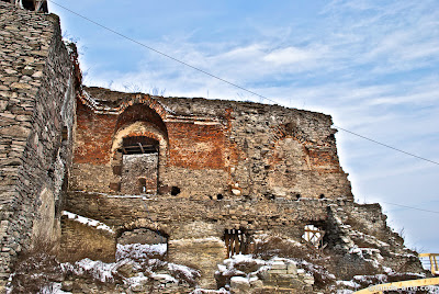 Ruinas de la ciudadela y fortaleza de Deva, Rumania