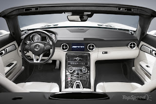 2011 Mercedes SLS AMG Roadster Interior