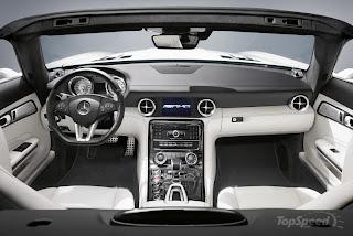 2011 Mercedes SLS AMG Roadster Interior