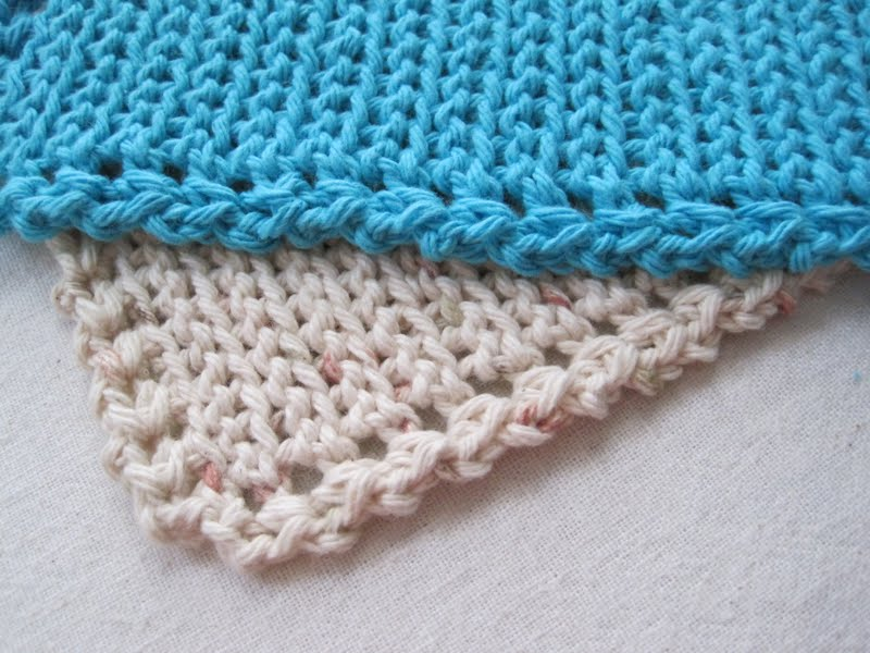Free Crochet Pattern For Easy Dishcloth : Mr. Micawbers Recipe for Happiness: Squiggledy Dishcloth ...