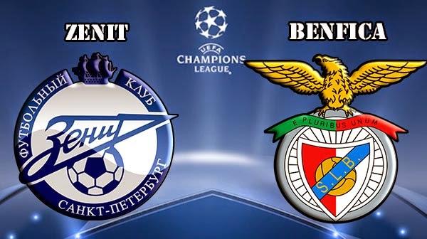 Poker Online : Prediksi Skor Zenit vs Benfica 27 November 2014
