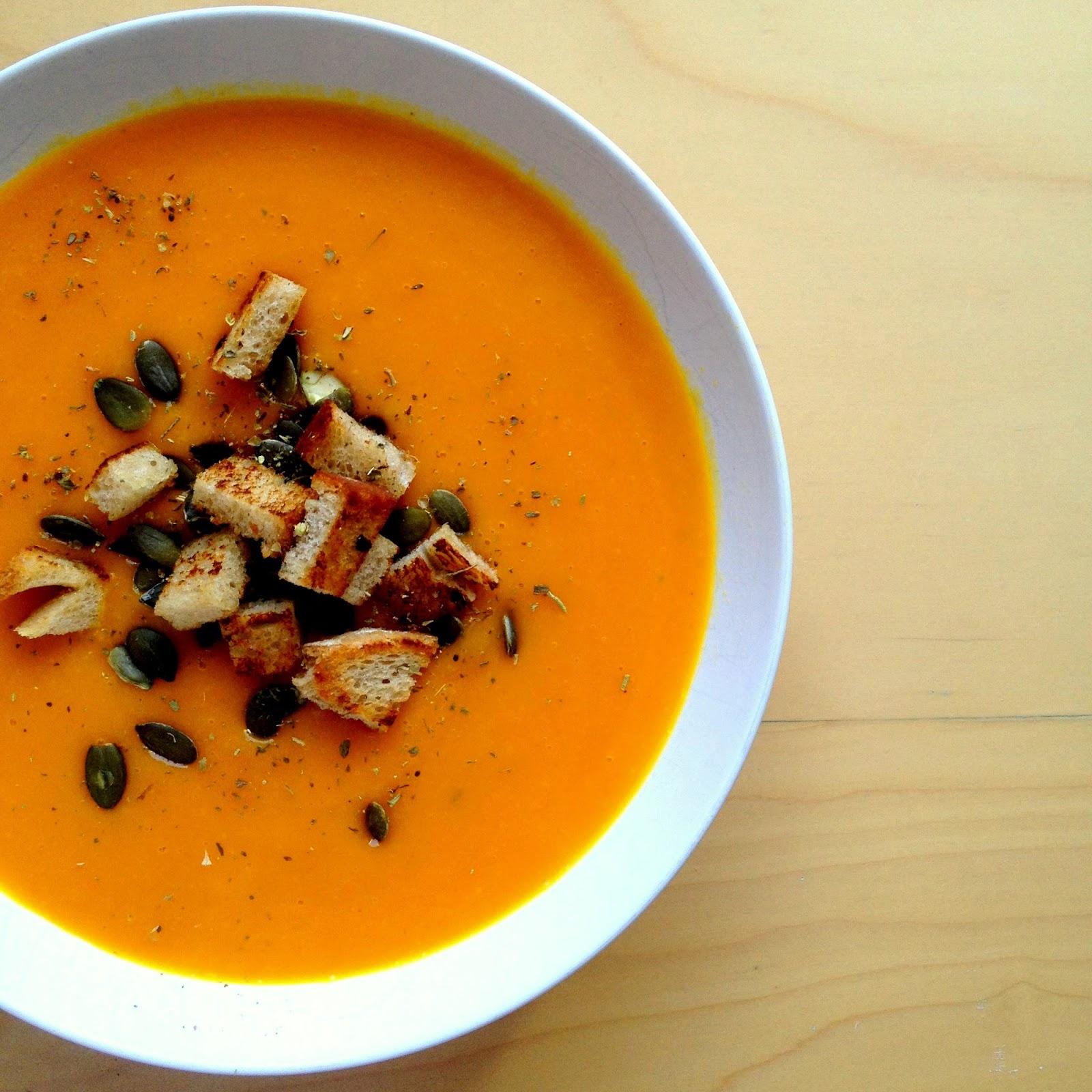 Recipe: Roasted Pumpkin Soup!