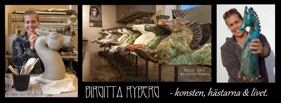 Birgitta Ryberg - konsten, hästarna och livet.