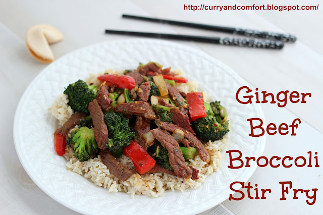 Kitchen Simmer: Ginger Beef and Broccoli Stir Fry