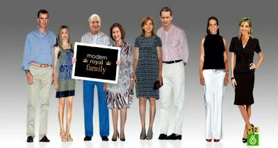Príncipes de Asturias, Reyes, Infantas, Urdangarin y Corina