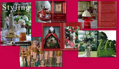 Styling Magazine - First Issue Celebrating Christmas