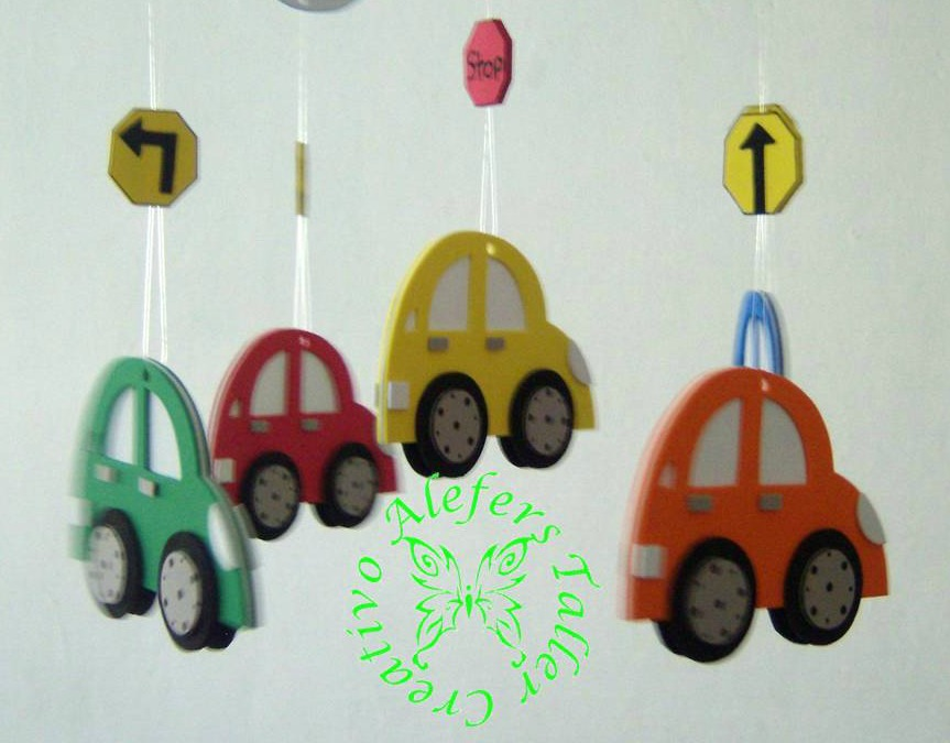 ALEFERS TALLER CREATIVO.: MOVIL DE CARRITOS