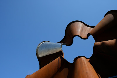 Corten Sculpture