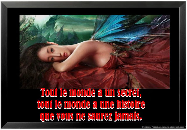 Citation secret en image