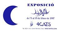 1997. BAR MODERNISTA 4GATS. BARCELONA.