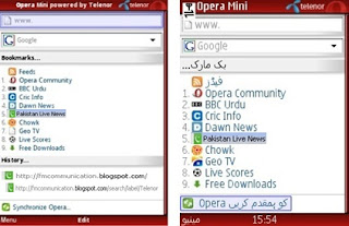 Telenor introduces Opera Mini Browser for free