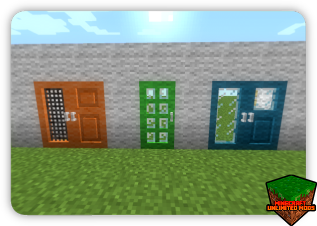 Carpenter's Blocks Mod puertas