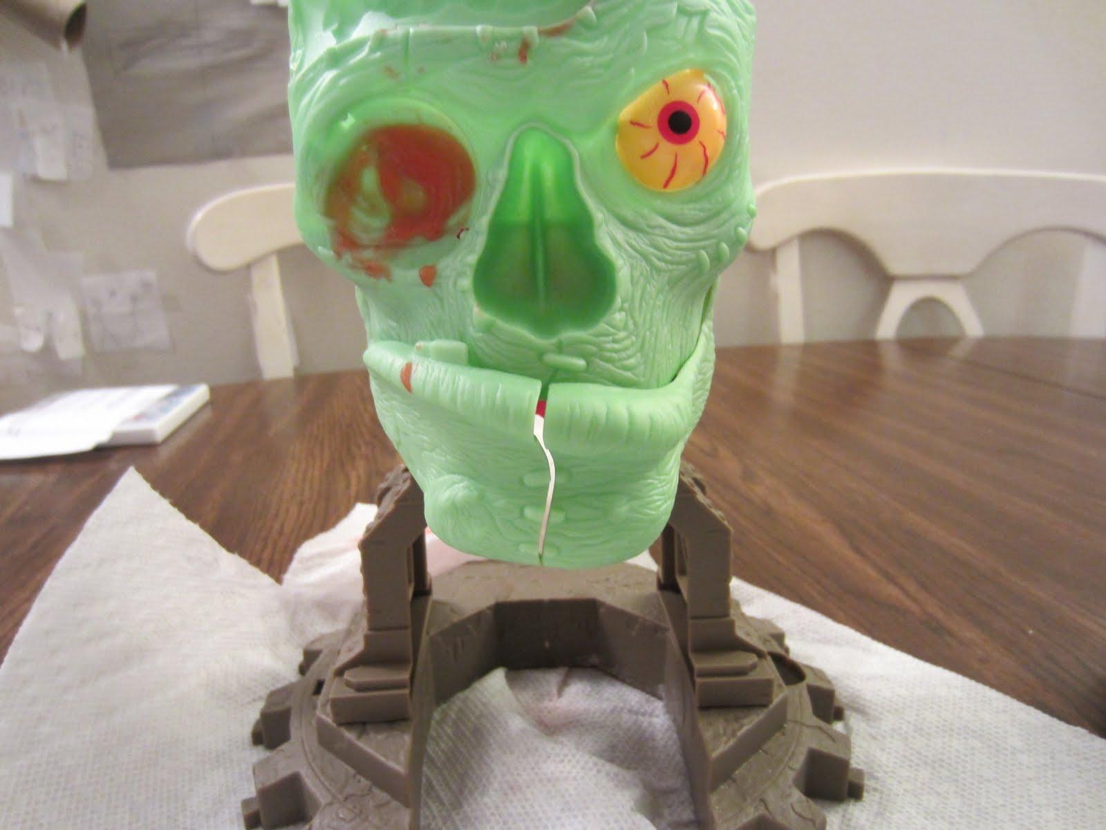 dr dreadful zombie lab instructions