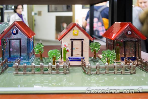 camdan bahçeli evcikler, cam ocağı satış mağazası