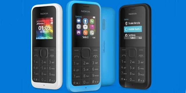 Nokia 105 dan Nokia 105 Dual SIM, Ponsel Termurah Nokia Telah Rilis