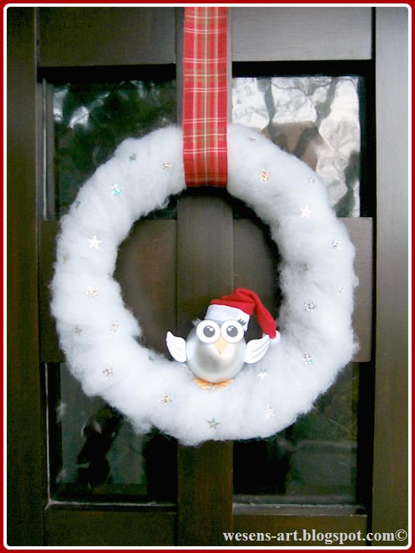 ChristmasOwls wesens-art.blogspot.com